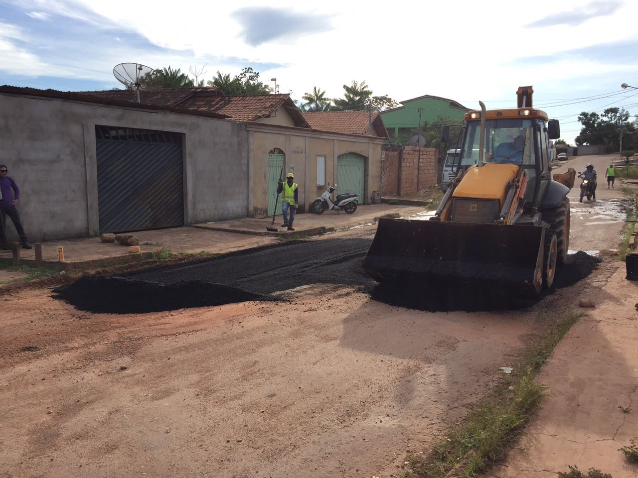 SEVOP: OPERAÇÃO TAPA BURACOS AVANÇA NO NÚCLEO CIDADE NOVA