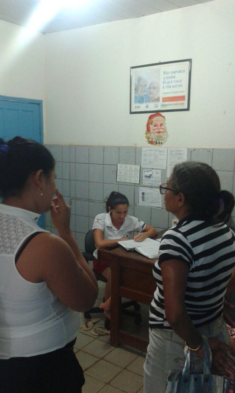 SAÚDE: CORUJÃO NO POSTINHO DO KM 7 FAZ 152 ATENDIMENTOS DURANTE O SÁBADO.
