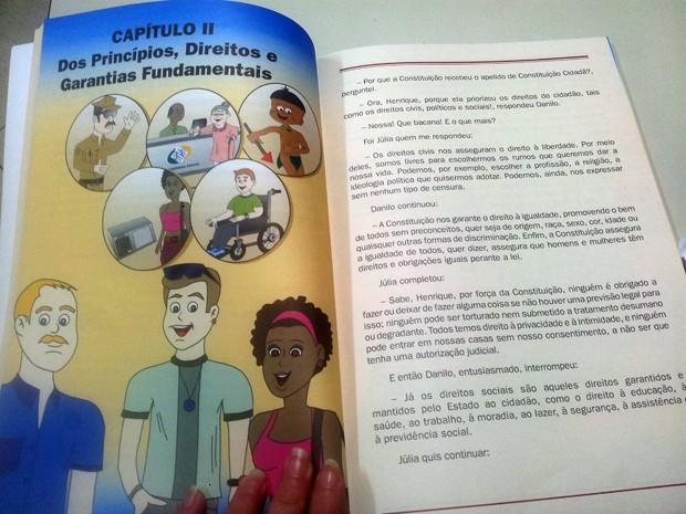"""EDUCAÇÃO: SEMED E CMM PROMOVEM PROJETO """"CONHECENDO A CONSTITUIÇÃO CIDADÔ"""