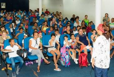 EDUCAÇÃO: VOLTA ÀS AULAS MARCADAS POR RECEPÇÃO CALOROSA NAS ESCOLAS