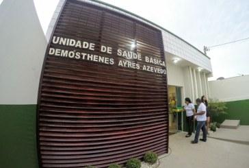 SAÚDE: UBS DEMÓSTHENES AZEVEDO É ENTREGUE À POPULAÇÃO DO BAIRRO FRANCISCO COELHO