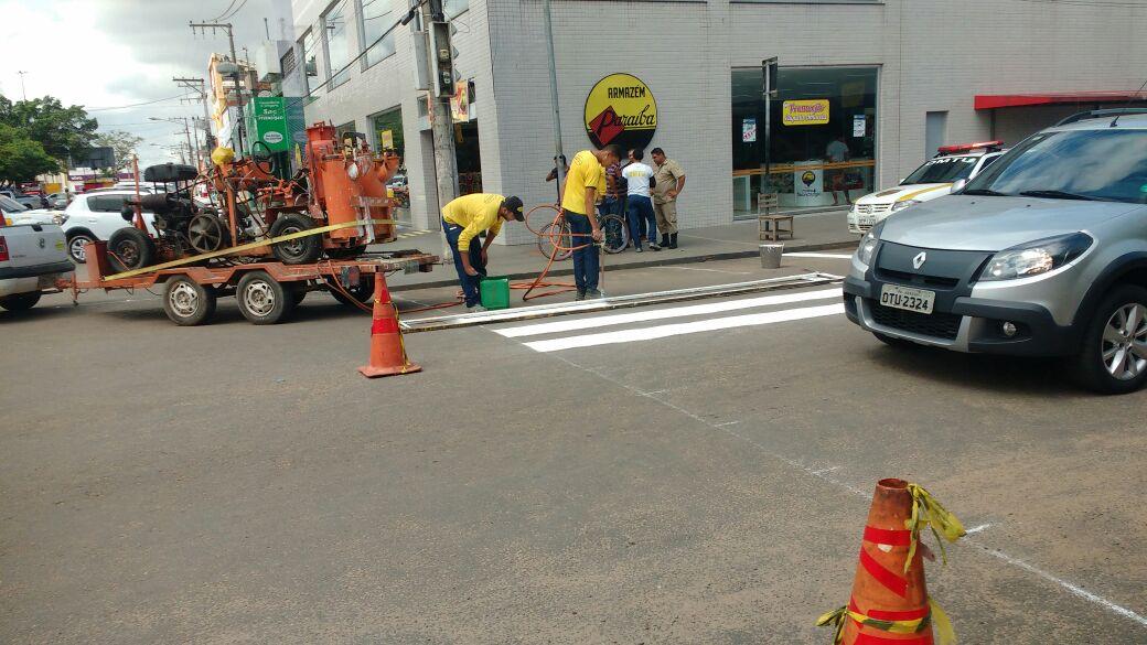 DMTU SEGUE PLANO DE REVITALIZAÇÃO DAS PRINCIPAIS RUAS DA CIDADE