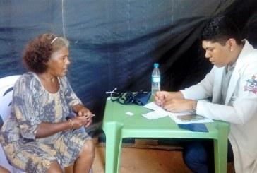 SAÚDE: EQUIPES EXTRA MURO REALIZA ATENDIMENTOS EM 7 ABRIGOS