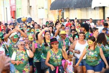 BLOCOS: MELHOR IDADE LEVA A ALEGRIA PARA AS RUAS DA MARABA PIONEIRA