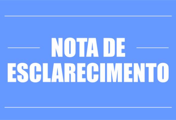 NOTA SOBRE OS ALAGAMENTOS PROVOCADOS PELA CHEIA DOS RIOS EM MARABÁ