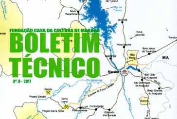 CASA DA CULTURA: EDIÇÃO 10 DE BOLETIM TÉCNICO ABRE CHAMADA PARA INSCRIÇÃO DE ARTIGOS