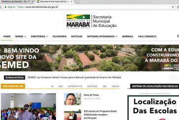 COMUNICAÇÃO SOCIAL: SEMED LANÇA NOVO SITE COM FERRAMENTA INTERATIVA E LOCALIZADOR DE ESCOLAS