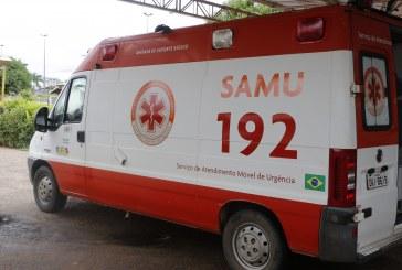 SAÚDE: SAMU ATENDEU 1.130 OCORRÊNCIAS NO 1º BIMESTRE