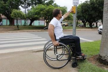 DMTU QUANTIFICA TEMPO DE PASSAGEM DE PEDESTRES EM FAIXA DE SEMÁFOROS ESPECIAIS