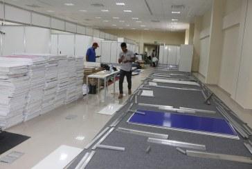 SECULT: EQUIPES INICIAM MONTAGEM ESTRUTURAL DO SALÃO DO LIVRO DE CARAJÁS EM MARABÁ