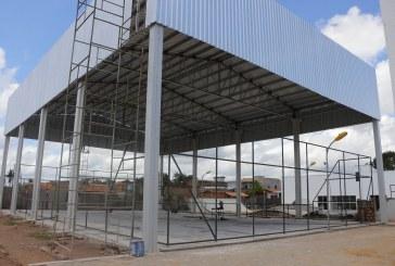 OBRAS: CENTRO DE ESPORTE E LAZER DO KM-07 SERÁ ENTREGUE ATÉ O FINAL DE MAIO