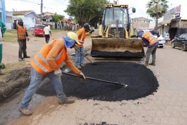 TAPA-BURACO: EQUIPES TRABALHAM COM DUAS FRENTES NA NOVA MARABÁ