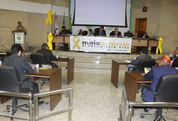 TRÂNSITO: DMTU LANÇA CAMPANHA MAIO AMARELO VISANDO A REDUÇÃO DE ACIDENTES