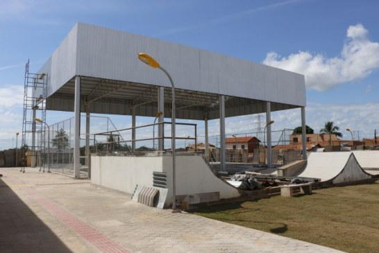 LAZER: CENTRO CULTURAL DO KM 7 ESTÁ EM FASE FINAL DE CONSTRUÇÃO