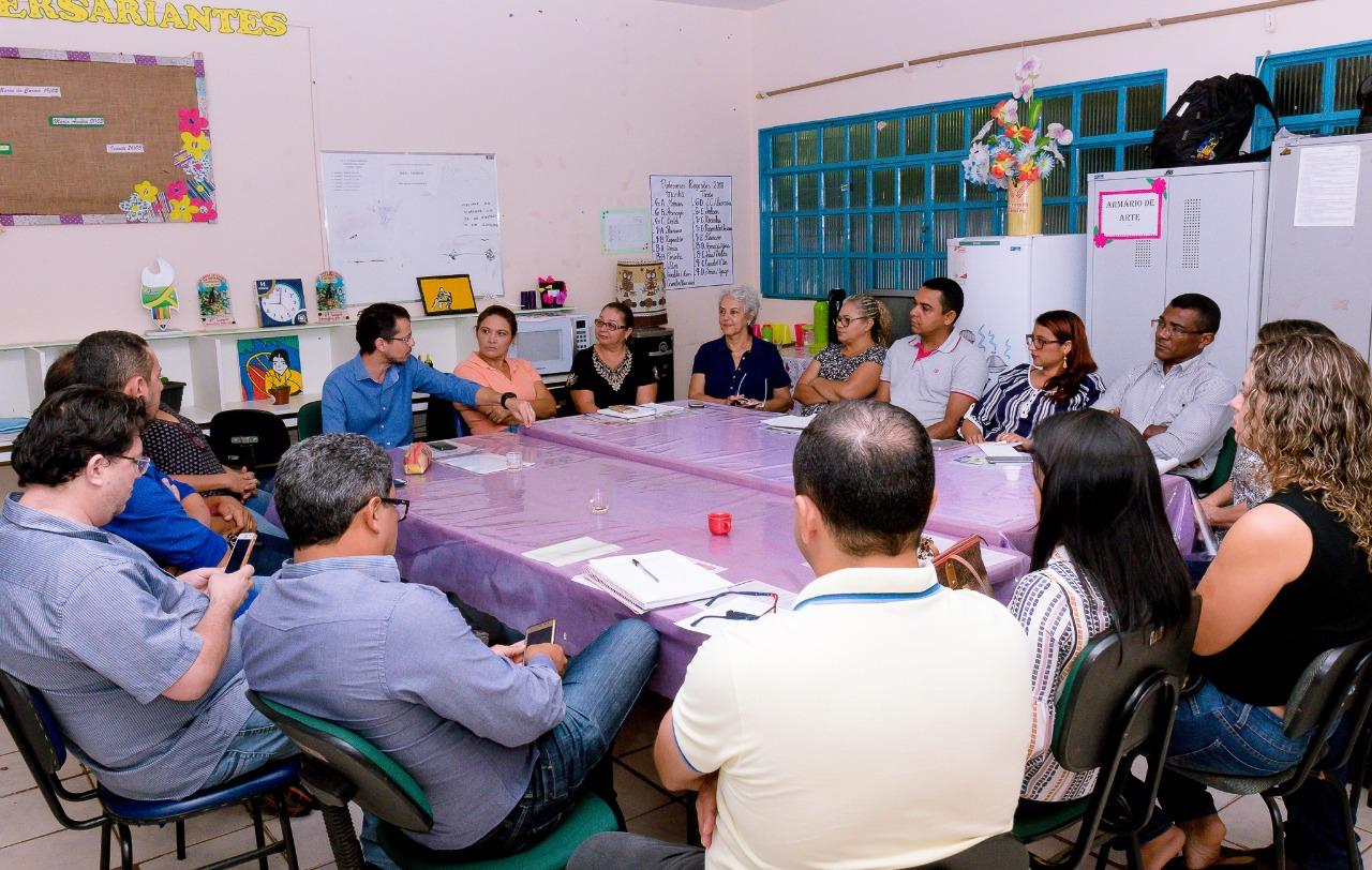 EDUCAÇÃO: SEMED IMPLANTA PROGRAMA DE APOIO À GESTÃO ESCOLAR