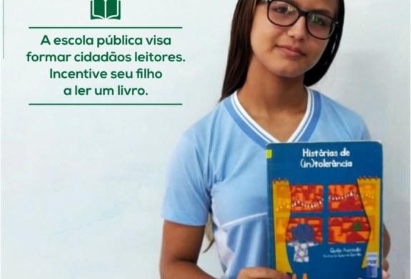 EDUCAÇÃO: PROJETO DE LEITURA MOBILIZA ESCOLA DA REDE MUNICIPAL