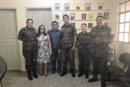 MILITARES DO EB VISITAM SEMED PARA DISCUTIR EDUCAÇÃO ESPECIAL