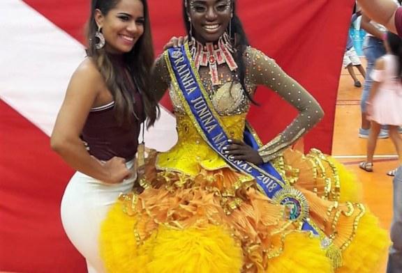 CULTURA: IARA LOPES DE MARABÁ CONQUISTA PRÊMIO DE MELHOR RAINHA JUNINA DO BRASIL
