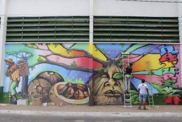CIDADE: GRAFITES RETRATAM CICLO ECONÔMICO MARABAENSE