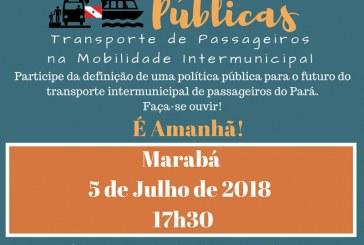 TRANSPORTE: AUDIÊNCIA IRÁ DEFINIR POLÍTICAS PÚBLICAS DE TRANSPORTE INTERMUNICIPAL DE PASSAGEIROS