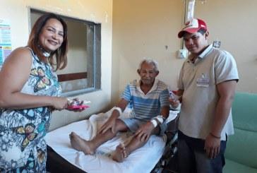 SAÚDE: HMM COMEMORA DIA DOS PAIS COM PACIENTES E SERVIDORES