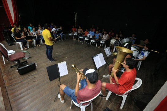 DIA DA PÁTRIA: BANDA MUNICIPAL FAZ ENSAIOS EXTRAS NA RETA FINAL PARA OS DESFILES DO 7 DE SETEMBRO