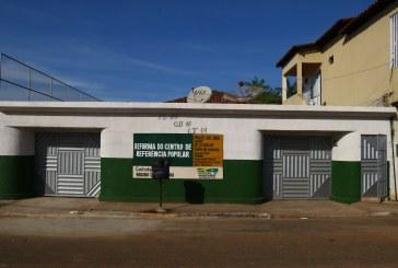 ASSISTÊNCIA SOCIAL: REFORMA DO CENTRO DE ATENDIMENTO À POPULAÇÃO DE RUA JÁ ESTÃO EM FASE FINAL.