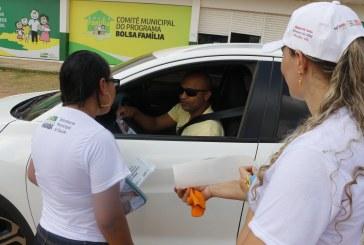 AGOSTO DOURADO: BLITZ EDUCATIVA INCENTIVA DOAÇÃO DE LEITE MATERNO
