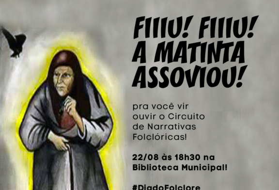 CULTURA: BIBLIOTECA MUNICIPAL COMEMORA DIA DO FOLCLORE NESTA QUARTA-FEIRA (22)
