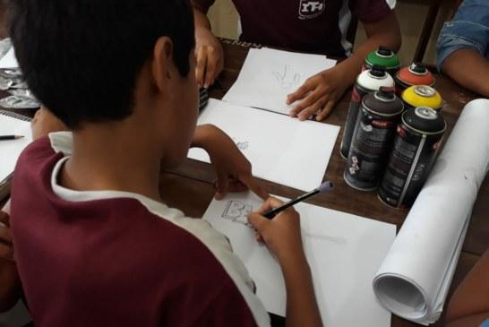 EDUCAÇÃO: ESCOLA IRMÃ THEODORA ATRAI PARCEIROS PARA OFERECER OFICINAS DE ARTE