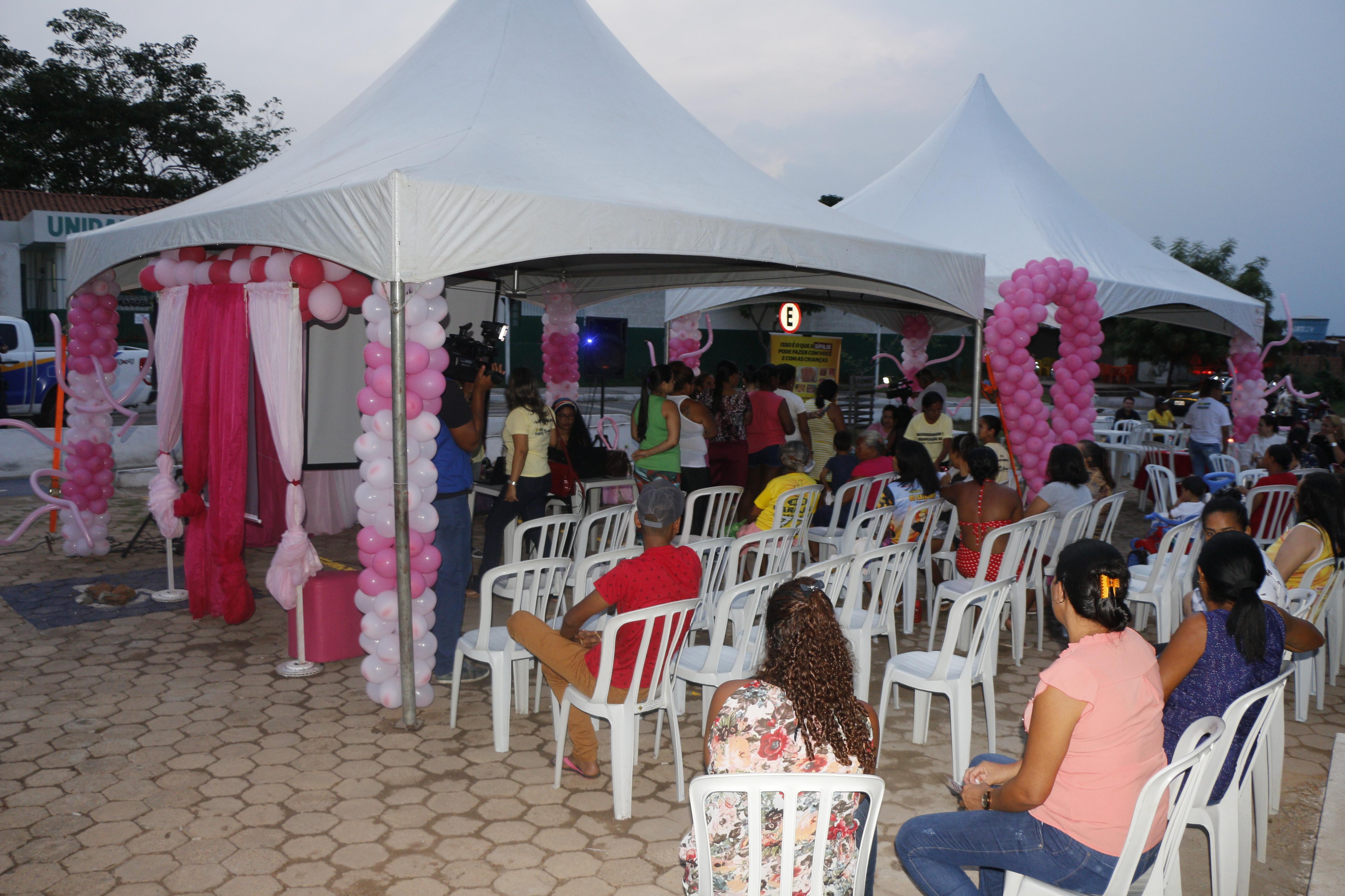 OUTUBRO ROSA: PROJETO SOCIAL DA GROTA CRIMINOSA LEVA SERVIÇOS À COMUNIDADE