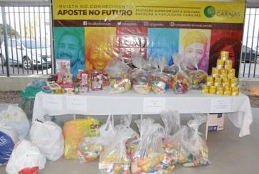 SAÚDE: CTA RECEBE DOAÇÃO DE LEITE DA FACULDADE CARAJÁS
