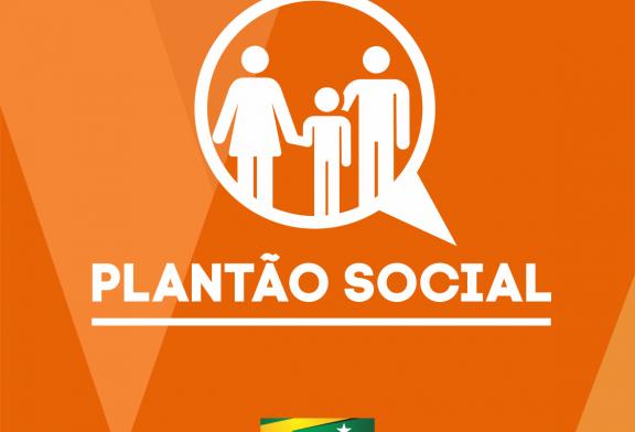 PLANTÃO SOCIAL: VEJA AQUI OS SERVIDORES DISPONÍVEIS NESTE FIM DE SEMANA E FERIADO DE TERÇA-FEIRA (20)