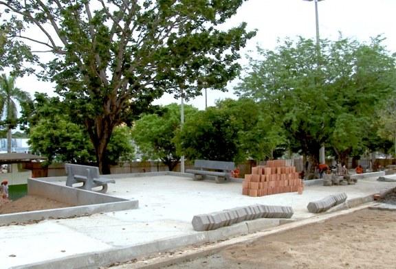 Sevop: Obra na Praça Lions está em ritmo avançado