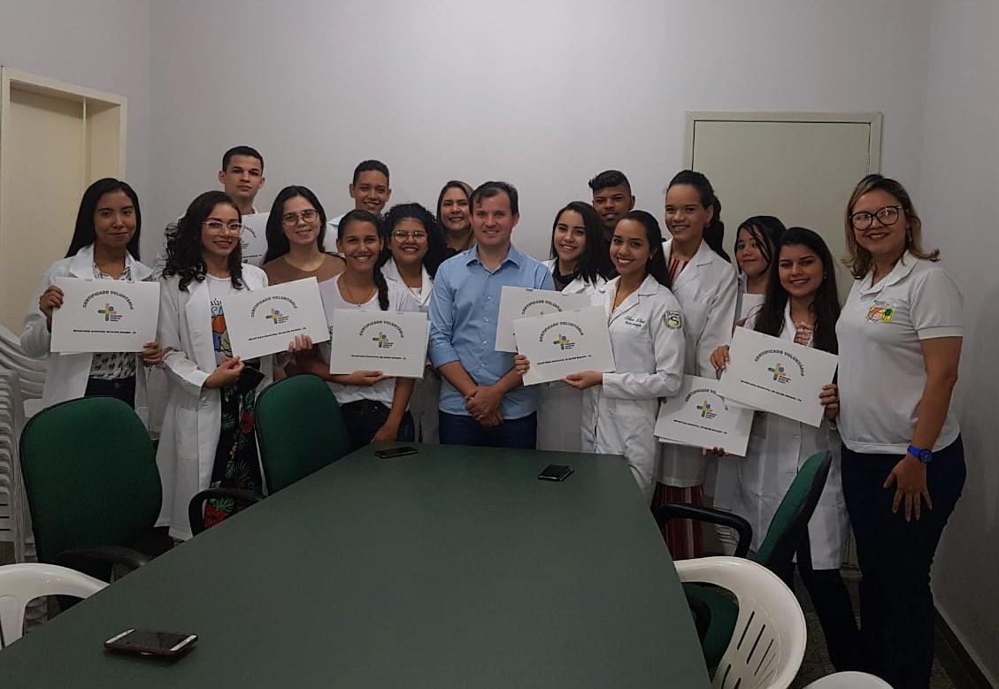 SMS: Secretaria Municipal certifica voluntários de enfermagem no Programa Saúde na Escola