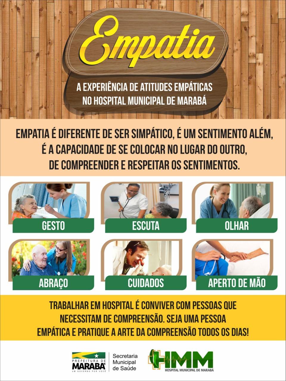 Saúde: HMM implanta projeto de empatia para melhorar atendimento