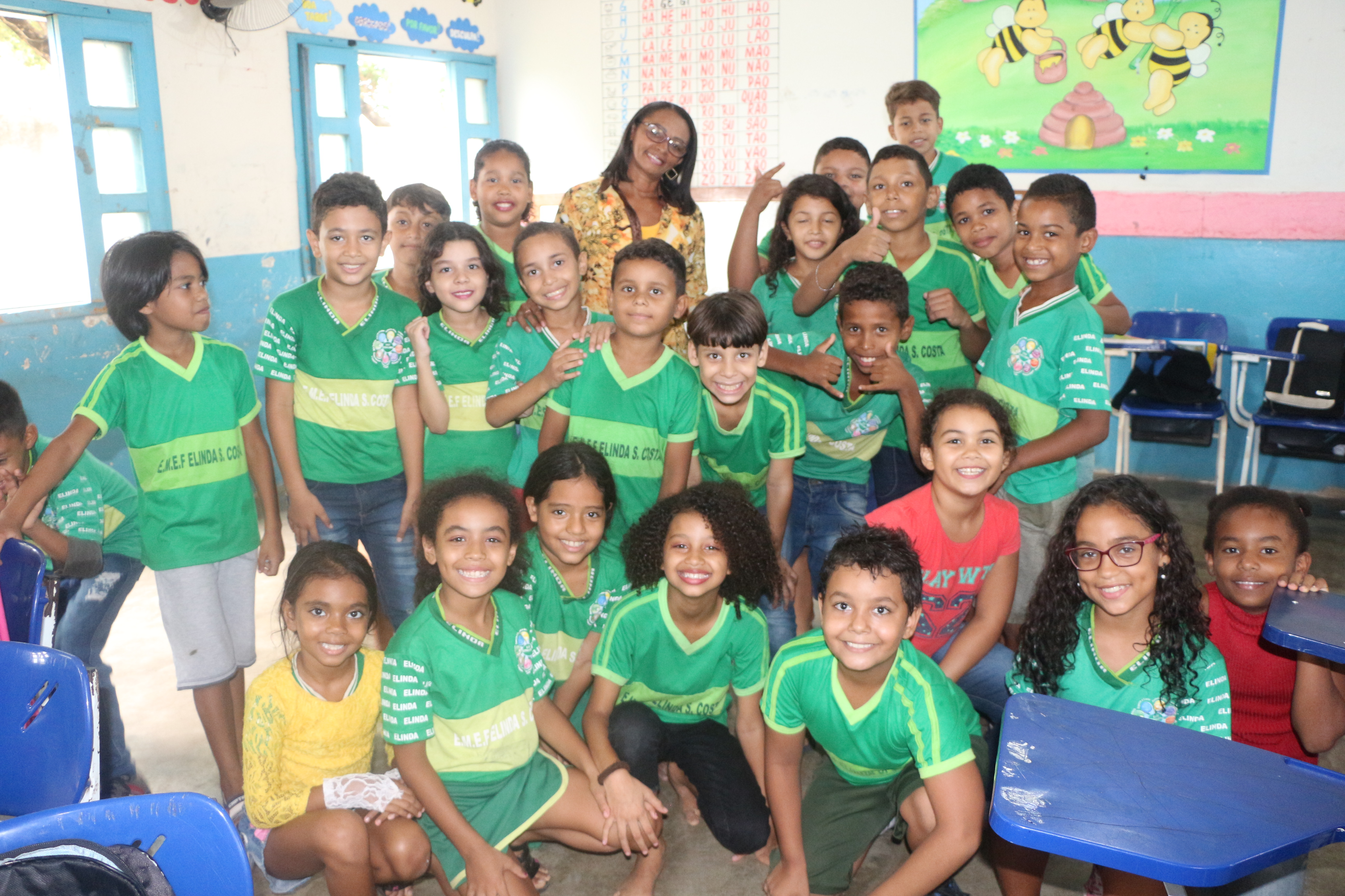 Educação: Diretora da Escola Elinda Costa se reinventa com projetos para melhorar ambiente escolar