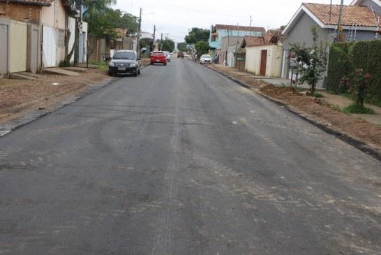 Sevop: Ruas do Bairro Jardim Belo Horizonte são pavimentadas
