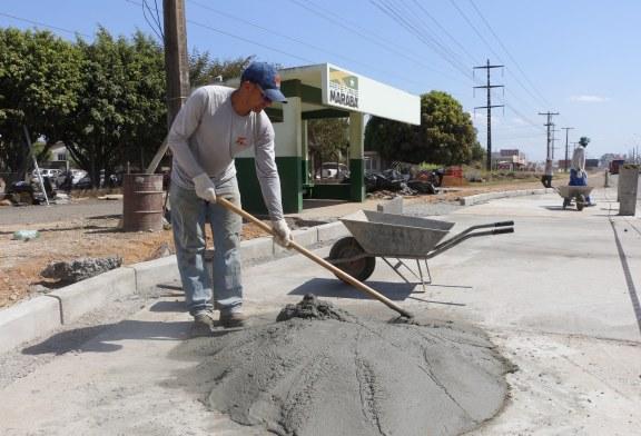 Obras: Sevop faz adequações de recuos em paradas e vai construir mais 43 pontos de ônibus